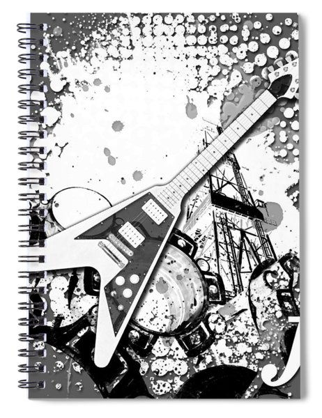 Audio Graphics 3 Spiral Notebook