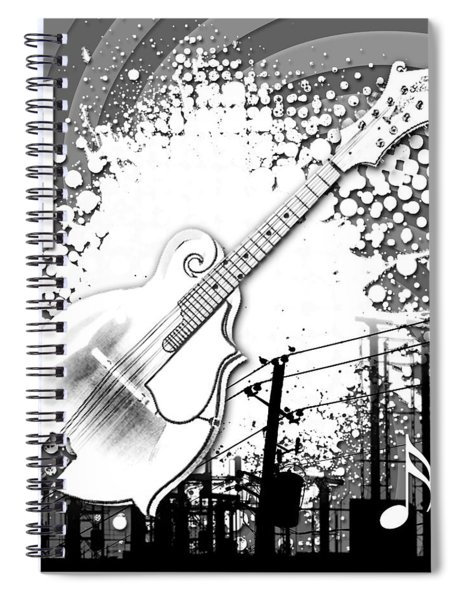 Audio Graphics 4 Spiral Notebook