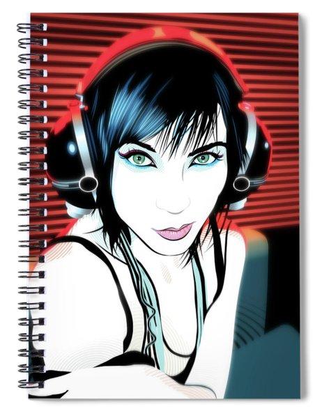 Audiophile Spiral Notebook