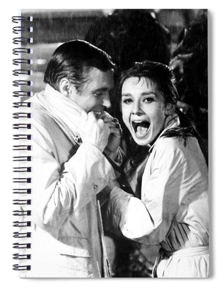 Audrey Hepburn As Holly Golightly Spiral Notebook
