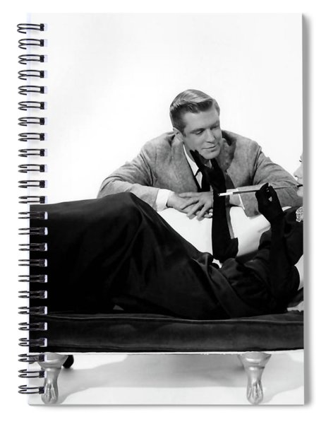 Audrey Hepburn Holly Golightly Breakfast At Tiffanys  Spiral Notebook