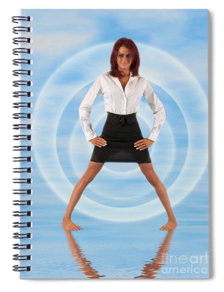 Audrey Michelle 2030101 Spiral Notebook