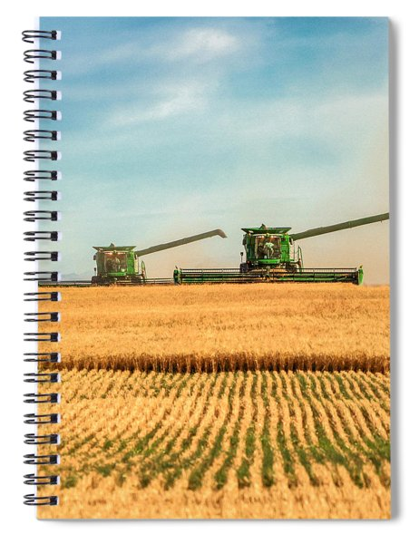 Augers Out Spiral Notebook