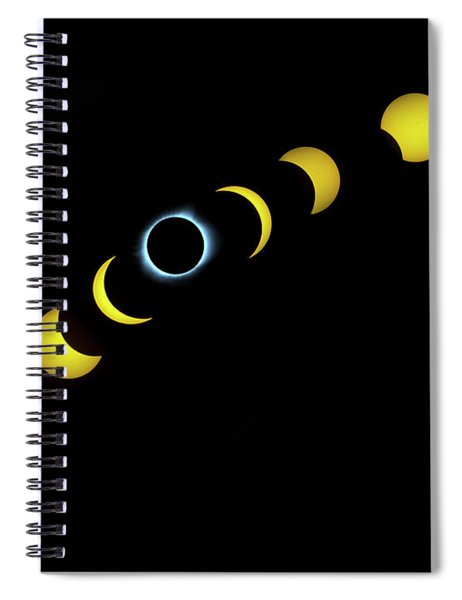 August 2017 Spiral Notebook