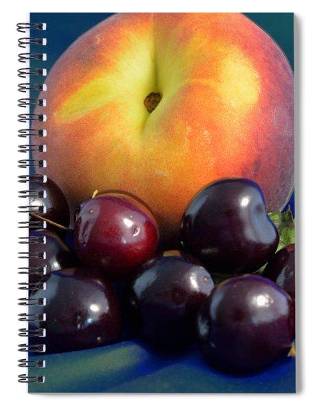 August Fruits Spiral Notebook