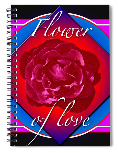 August Rose Spiral Notebook