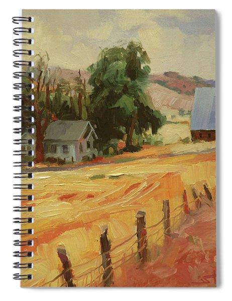 August Spiral Notebook