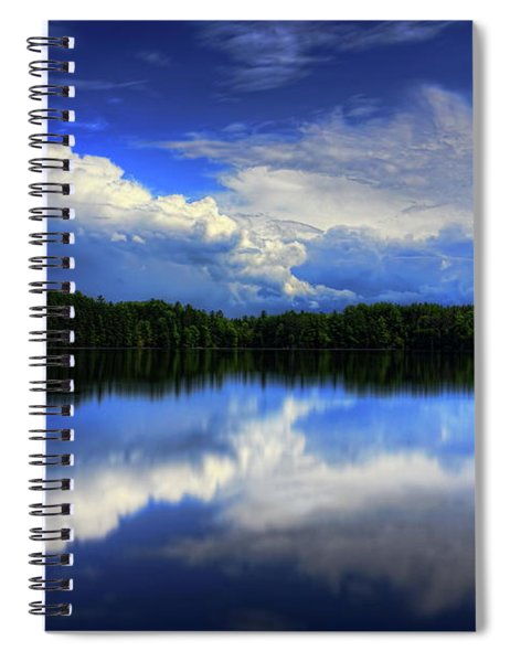 August Summertime On Buck Lake Spiral Notebook