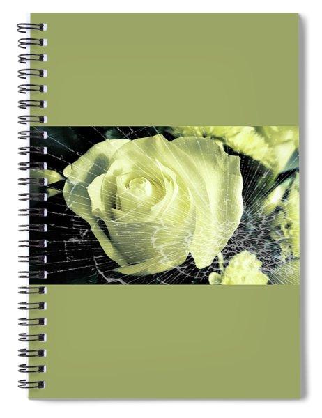 Aunt Edna's Rose Spiral Notebook
