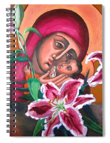 Aunt Katya's Icon Spiral Notebook