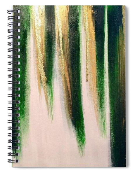 Aurelian Emerald Spiral Notebook