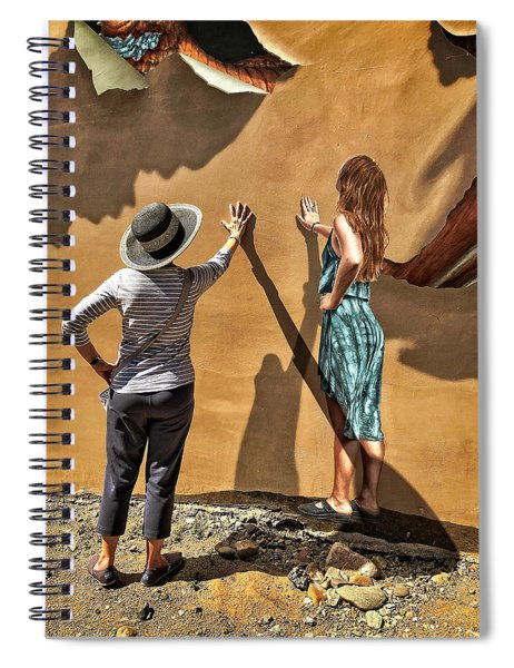 Aurora And The Mural Spiral Notebook