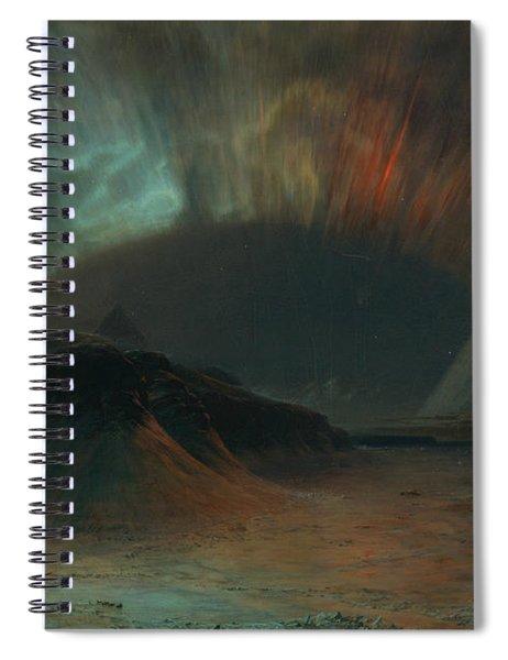 Aurora Borealis Spiral Notebook