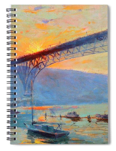 Aurora Bridge, Seattle, Washington Spiral Notebook