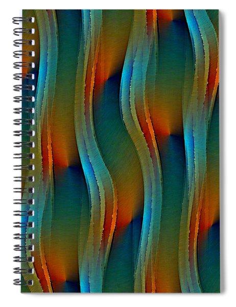 Aurora Oil Spiral Notebook