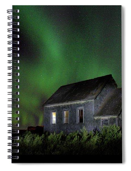 Aurora Old School Spiral Notebook