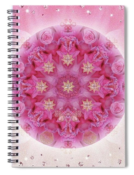 Auspicious Adoration Spiral Notebook