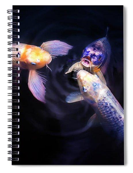 Auspicious Three Spiral Notebook