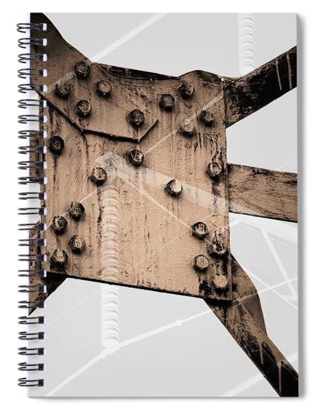 Austerity Of Form Spiral Notebook
