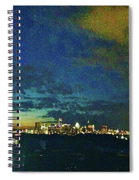 Austin At Dusk Spiral Notebook