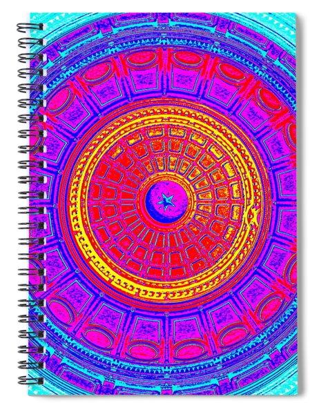 Austin Capitol Dome - 4 Spiral Notebook