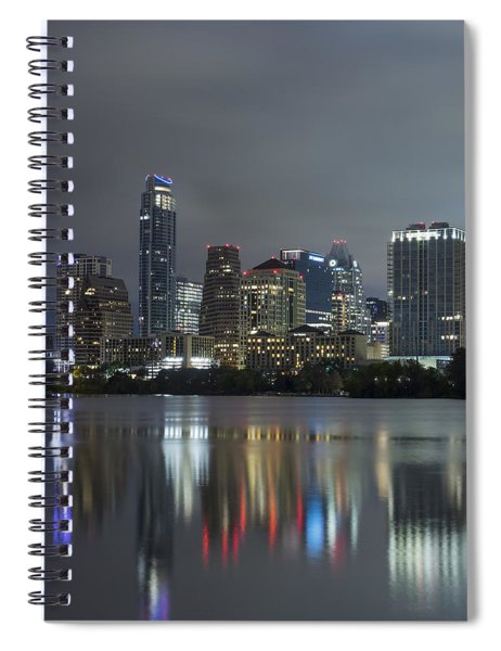 Austin Reflections Spiral Notebook