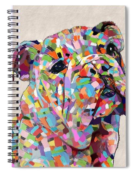 Australian Bulldog  Spiral Notebook