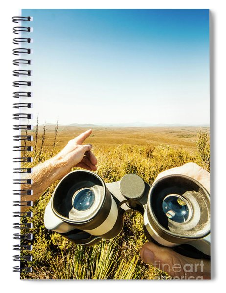 Australian Safari Spiral Notebook