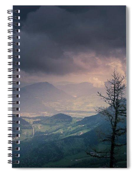 Austrian Alps Spiral Notebook