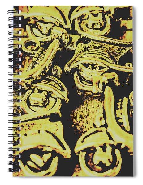 Automotive Pop Art Spiral Notebook