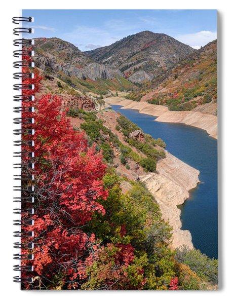 Autumn At Causey Reservoir - Utah Spiral Notebook