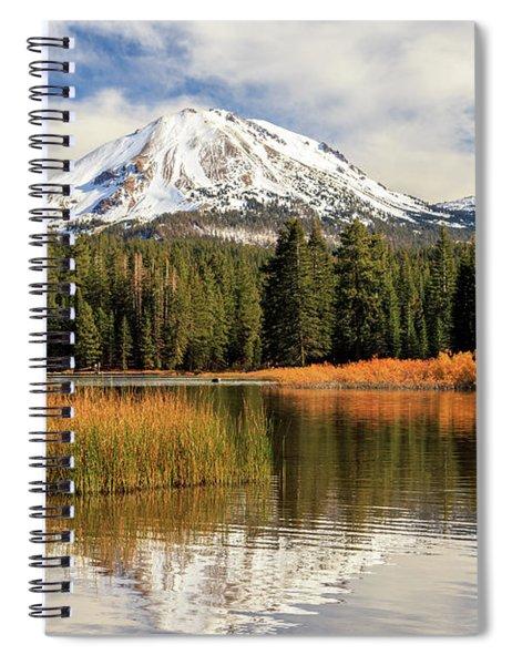 Autumn At Mount Lassen Spiral Notebook