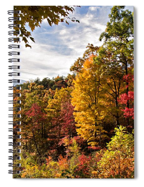 Autumn At Roaring Fork Spiral Notebook