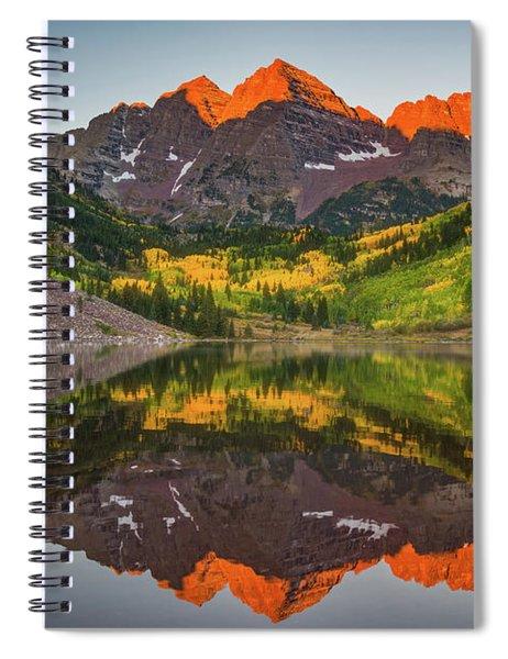 Autumn Bells Spiral Notebook