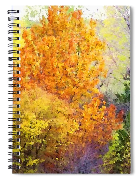 Autumn Blaze  Spiral Notebook