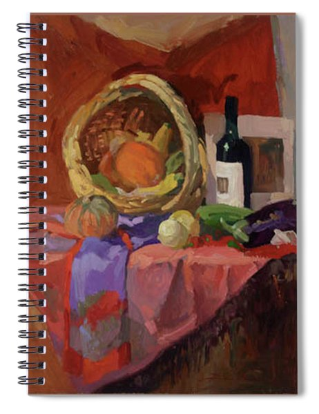 Autumn Collection Spiral Notebook
