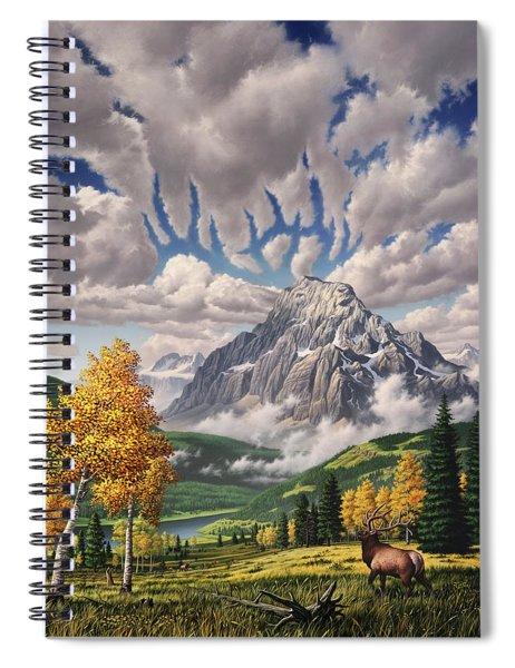 Autumn Echos Spiral Notebook