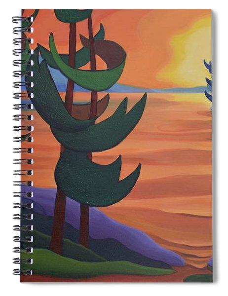 Autumn Glow Spiral Notebook