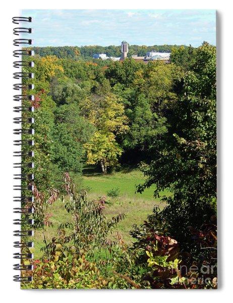 Autumn In Ann Arbor Spiral Notebook