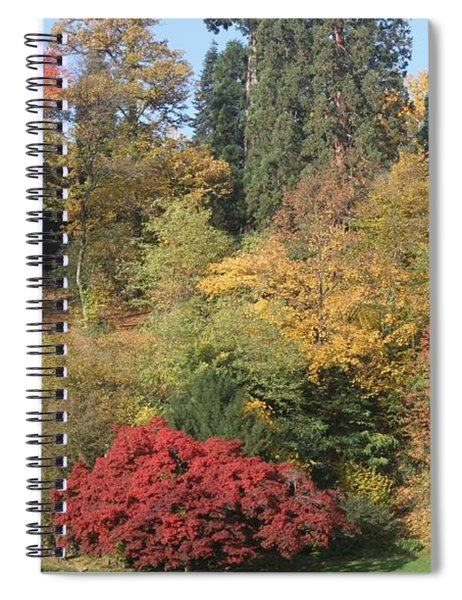 Autumn In Baden Baden Spiral Notebook by Travel Pics