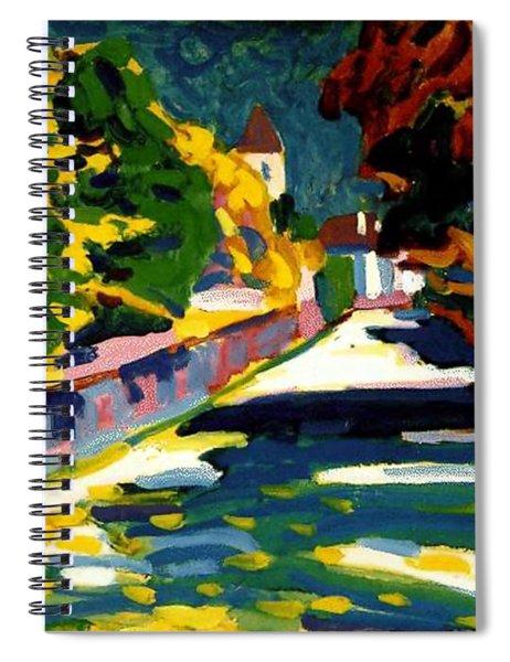 Autumn In Bavaria Spiral Notebook
