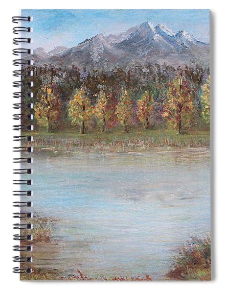 Autumn In Maule Spiral Notebook