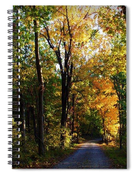 Autumn In Missouri Spiral Notebook