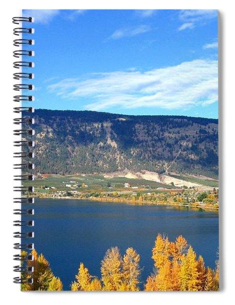 Autumn In Oyama Spiral Notebook