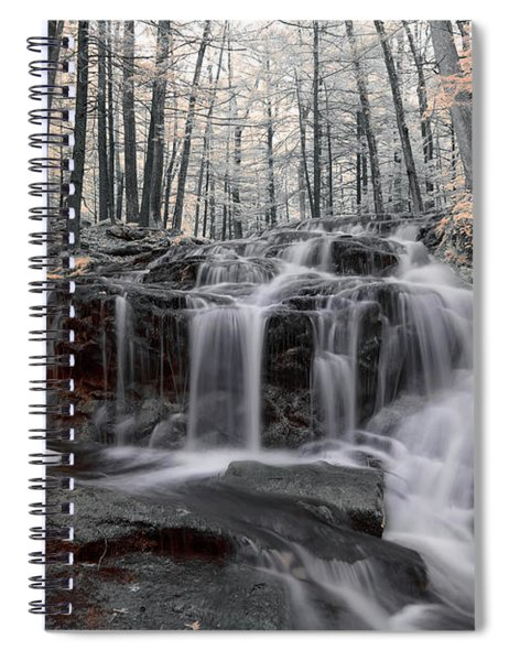 Autumn In Spring Infrared Spiral Notebook