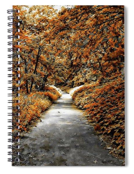 Autumn In Stamford Spiral Notebook