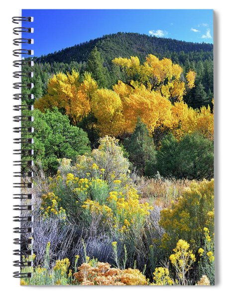 Autumn In The Canyon Spiral Notebook
