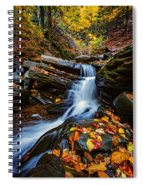 Autumn In The Catskills Spiral Notebook