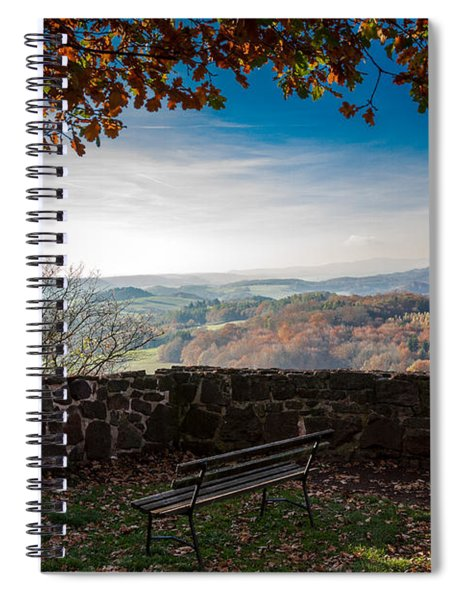 Autumn In The Southern Harz Spiral Notebook