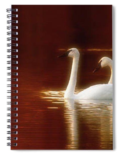 Autumn Jewel Spiral Notebook